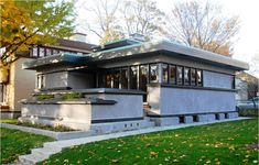"Arthur L. Richards Small House ""Model B1"" by Frank Lloyd Wright in Milwaukee, Wisconsin"