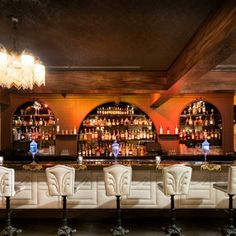 Absinthe, Jazz & Dueling Pianos: Restaurant & Gastrolounge 'The Charleston' Now Open in Santa Monica Santa Monica Bars, Jet Tila, Piano Bar, Supper Club, Food Places, Night Life, Liquor Cabinet, Contemporary, Dining