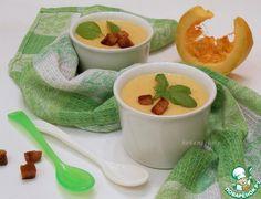 Суп-пюре с тыквой и плавленым сыром - кулинарный рецепт
