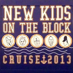 Large Format Printing Figment Design New Kids on the Block Cruise 2013 Rose Tours #FigmentDesign #largeprint #newkidsontheblock #cruise