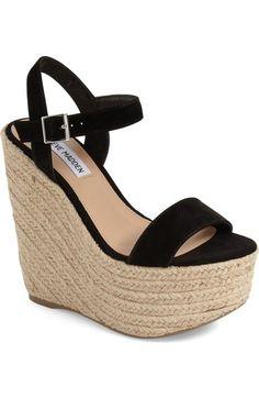 Steve Madden 'Alyssa' Espadrille Wedge Sandal (Women) available at #Nordstrom