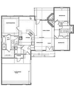 The SHADOWOOD is 1552 Square Feet with 3BR/BA