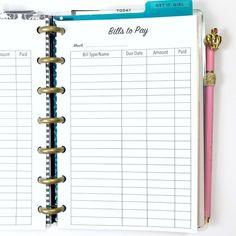 free printable check register pages planner lovin pinterest