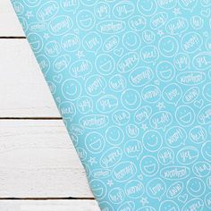 Happy Talk Bubble - Teal Stone Wrap | BeckyHiggins.com