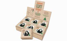 Austarlian Scent Pendant, packaging, identidad, red comunicación gráfica