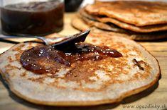 Palacinky bez lepku, laktózy a vajec Pancakes, Paleo, Food And Drink, Gluten Free, Vegetarian, Cookies, Breakfast, Ethnic Recipes, Glutenfree