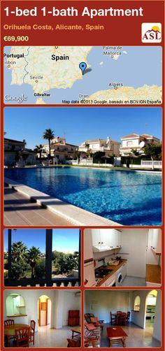 1-bed 1-bath Apartment in Orihuela Costa, Alicante, Spain ►€69,900 #PropertyForSaleInSpain