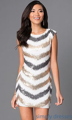 Sleeveless Sequin Party Dress I347221F6 by As U Wish