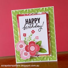 Scrap Stamp Share: Australasian Operation Smile 'Happy Everything' Blog Hop