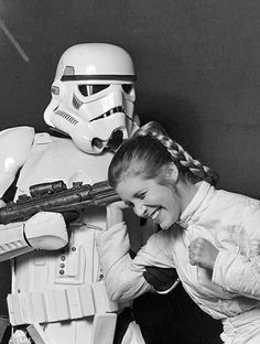 Carrie Fisher - The Empire Strikes Back.