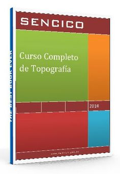 Curso Completo de topografía - SENCICO - PDF  #topografia #cursoGratis #LibreArchivo  http://www.librearchivo.tk/2016/07/curso-completo-de-topografia-sencico-pdf.html