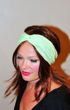 Mint Turban Headband