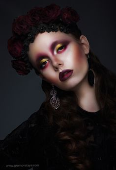 Make-up, cosmetics, creative, body art, face art, portrait, beauty, creative, photographer, photography, studio, glamor, style, the magazine