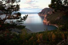 Uzury area of Olkhon Island, Baikal Lake · Russia travel blog