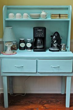 1000 images about coffee center ideas on pinterest for Coffee station furniture