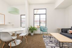 Rent meeting space at 3490 Street, Floor, Suite 203 daily or hourly with Breather. Book office space in The Mission District, SF Bay Area. 2nd Floor, San Francisco, Dining Table, Flooring, Interior Design, Street, Inspiration, Furniture, Home Decor