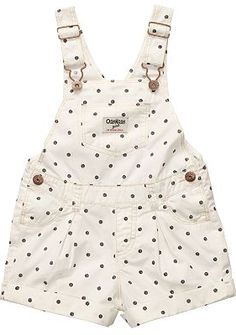 OshKosh B'gosh Polka-Dot Shortalls Lol I think these are for little kids but there adorable