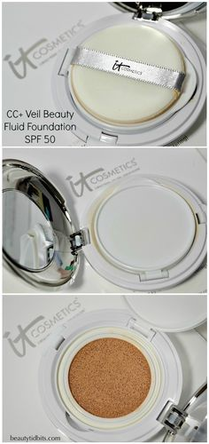 It Cosmetics CC+ Veil Beauty Fluid Foundation SPF 50 via @beautytidbits #ItCosmetics