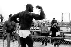 Bruce Davidson. 'Body Builder on Venice Beach, California' 1964