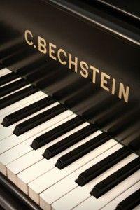 ...100 year old Bechstein keyboard