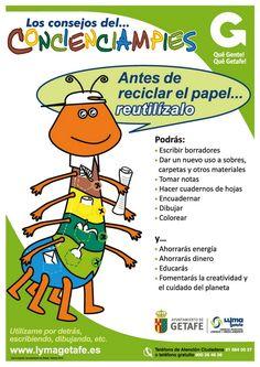 LYMA Campaña reciclaje y reutilización de papel