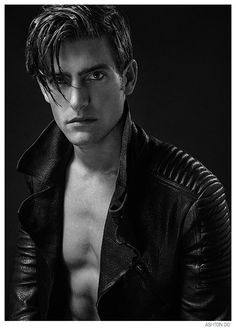 Justin Hopwood Poses in Leather for New Photos by Ashton Do image Justin Hopwood 2014 Photos 002