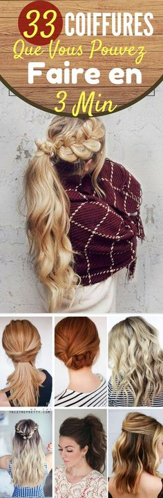 Hair Natural Updo Styles Simple Ideas For 2019 Donut Bun Hairstyles, Fast Hairstyles, Trendy Hairstyles, Updo Styles, Curly Hair Styles, Natural Hair Styles, Makeup Tips, Hair Makeup, Makeup Hacks