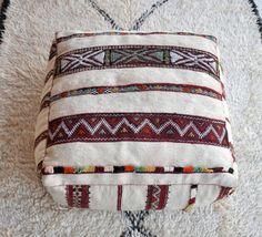 Bazar Vintage Kilim marocain Pouf