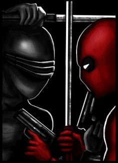 Deadpool Vs. Snake Eyes by Heroforpain