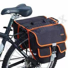 alforjas ibera para bicicleta. bolsas traseras panniers