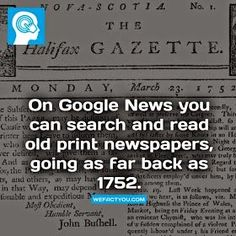Genealogy for Youth: Find old newspapers (for free!)