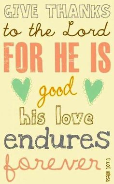 His love is great