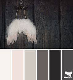 winged tones - design seeds: this is my ideal color palette for a bedroom or living room