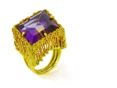 An ametrine and eighteen karat gold ring, Takashi Wada