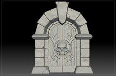 Dungeon Gates (Sculpt. WIP), Andrew Orekhov on ArtStation at…