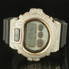 Peach Rose Gold Finish Silicon Band Men Custom G-Shock Bezel Silicon Band Watch Diamond & Co. http://www.amazon.com/dp/B00K7LG13C/ref=cm_sw_r_pi_dp_LnFsvb1ZT5AQF