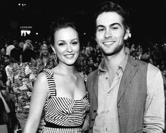Leighton Meester & Chase Crawford