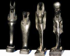 Egyptian statue | Etsy