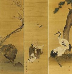 Oriental warding scrolls?
