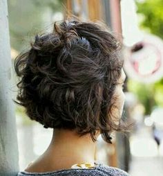 I really like the back of her hair. I can't decide if it's because it's partially pulled up or if I just like the cut.