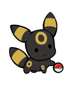 CUTTTEEEEEEEE!!!!!!!! #pokemon #eeveelutions #umbreon