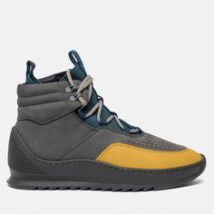 Мужские кроссовки Filling Pieces Mid Altitude Heel Cap Tech Yellow Black b51958d59d3