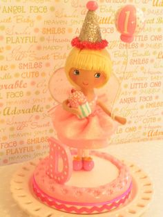 A Sweetiepie Cake Topper Fairy Tutu by SweetiePieCaketopper, $120.00