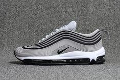 Cheap Nike Air Max 97.3 KPU Mens shoes #Gray #Black #Max97 WhatsApp:8613328373859