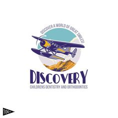 Develop a fun travel-inspired sea plane logo or emblem for an exciting children鈥檚 dental office. by 1001.desings