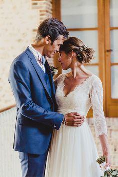 Le mariage de Charlotte et Paul au Domaine des Evis | Photographe : Geometry Love | Robe de mariée : Cymbeline | Donne-moi ta main - Blog mariage