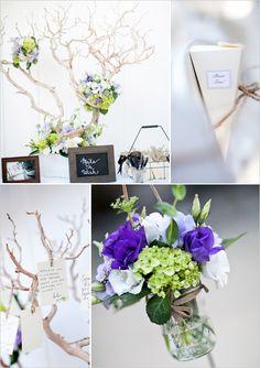 purple & branches