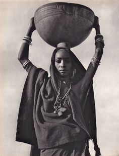 Fulani woman in Niger. From: Nomades du soleil de Henry Brandt, Edition La Guilde du livre, Lausanne, - curated by African Tribes, African Diaspora, African Women, African Art, African Style, African Fabric, African Beauty, African Fashion, Ankara Fashion