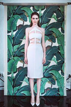 Cushnie et Ochs Resort 2015. Read the review on Vogue.com.