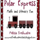 This 123 page unit centered around a polar express theme will have your students believing. There are 19 different math activities and 14 different...